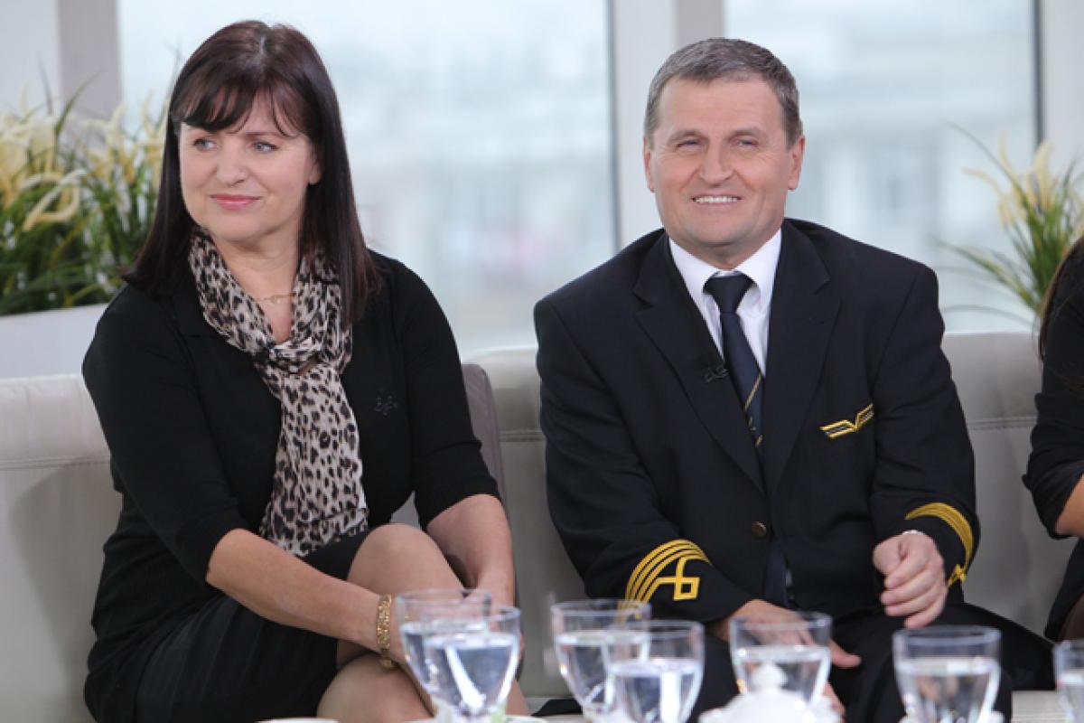 kpt.Tadeusz Wrona z żoną
